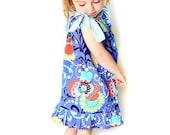 On Sale 40% off Pillowcase Dress w. Ruffles Sewing Pattern w. halter version