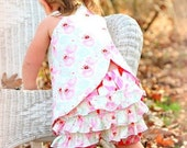 Sewing Pattern with Tutorial for reversible Criss Cross Tunic 3m - 12 girls PDF