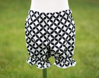 Bloomers Pattern for girls  in 2 lengths nb-6 girls PDF