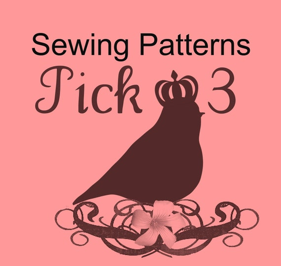 Great Value WHIMSY COUTURE pick 3 Sewing Patterns Tutorials Ebooks PDF