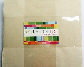 """Moda Bella Solids WARM 10"""" Layer Cake Fabric Squares 9900LC-24"""