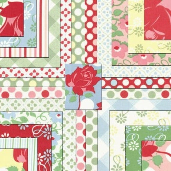 Moda Swell Jelly Roll Fabric Strip Roll By Materialgirlchic