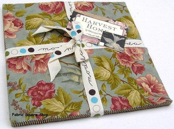 Blackbird designs harvest home moda fabric layer cake for Beach house blackbird designs moda