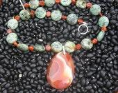 African Sun Necklace