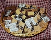 Handcrafted Rustic Goats' Milk Soap Unscented