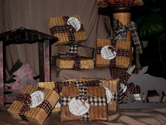 Handcrafted Rustic Goats' Milk Soap