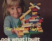 Lego Toys..1970s Vintage Advertising