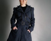 MASQ custom made for YOU steampunk, lolita, victorian, noir, cabaret styles fall - winter coat made to measure in any colour