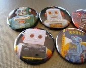 My Buddy Robots Magnets Set 1 - Set of Five