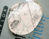 Paris Map Paperweight