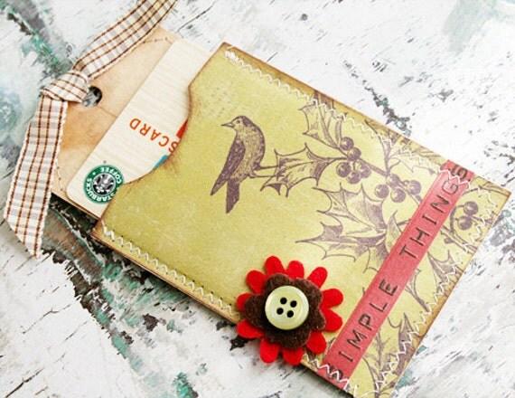 Simple Things - Gift Card Envelope