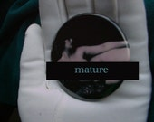 Mature vintage poses nude pocket mirrors, recline nude