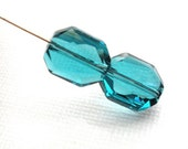 Swarovski Crystal Indicolite - 12mm -   Article 5520 - Graphic Bead