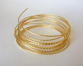 21 Gauge Twisted Gold Plated Wire