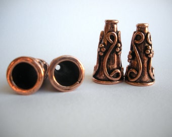Pewter Cones - Lead and Nickel Free - Antique Copper