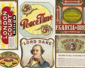 33 different 1930s plus TOBACCO and CIGAR LABELS