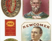 19 1930s plus TOBACCO And CIGAR  LABELS..