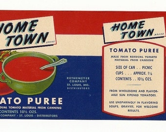 5 Old Vintage TOMATO LABELS Milroy,,KING'S,Monarch,Home Town
