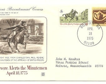 3 Old Vintage AMERICA'S BICENTENNIAL COVERS