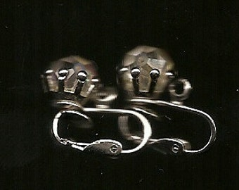 Old VINTAGE EARRINGS CLIP-On's