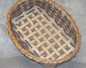 Handwoven Basket - Loaves and Letters - Small bread loaf or outgoing mail basket
