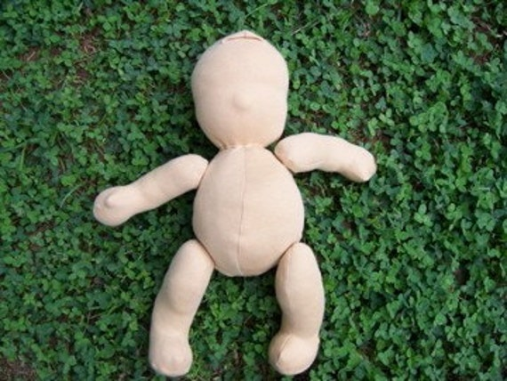 Ready-to-Finish Waldorf-inspired Jointed Doll - Tan