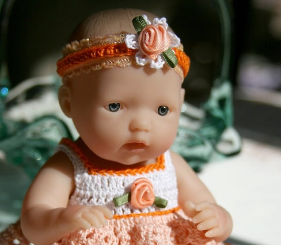 Crochet Outfit Berenguer 7 5 Or Circo 8 Inch Slim Baby Doll