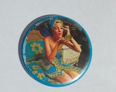 After shower-RETRO ad pocket mirror