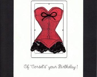 Corset Birthday