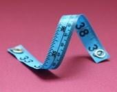 Tape Measure Bracelet in Blue