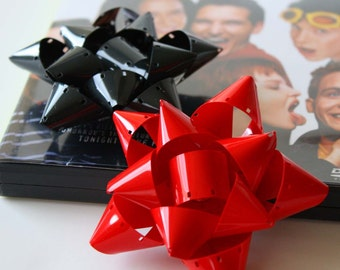 Mini Film Reel Gift Packaging Bows - Set of 10
