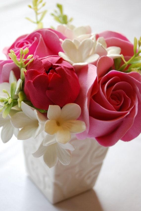 Fuschia rose deco for Deco appartement rose