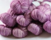 Bowland DK in Wild Rasberry (Lot 200612)   - hand dyed superwash bluefaced leicester knitting yarn - UK Seller