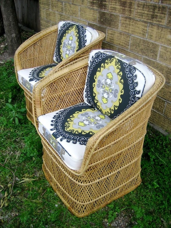 SALE Gypsy Basket Chairs (RESERVED FOR LESLIE)