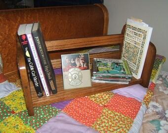 Ginkgo Leaf Oak Bookshelf