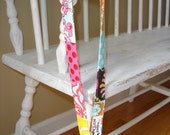 Maggie Moo's Mom Original Patchwork Neck Lanyard...Excellent for ID badges, whistle, etc.