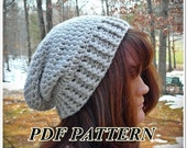 Crochet Pattern Doughboy A Slouch Hat - Digital Download