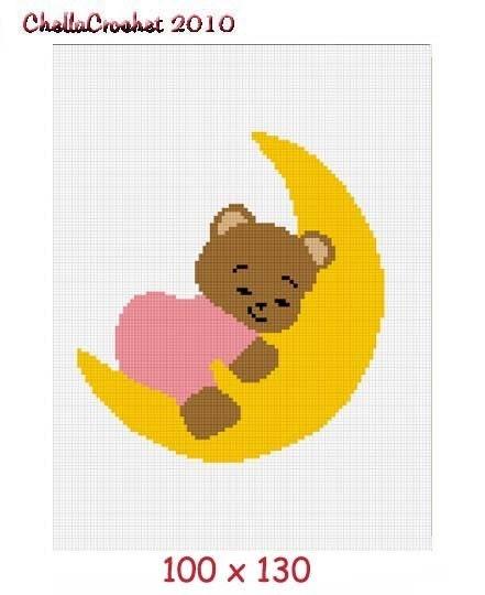 Sleeping Teddy Bear Baby Afghan Baby Teddy Bear Sleeping