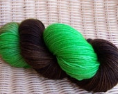 Mint Mocha - Buttercream (Superwash Sock Yarn)