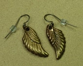 Brass Wing Earrings (PRICE REDUCED)