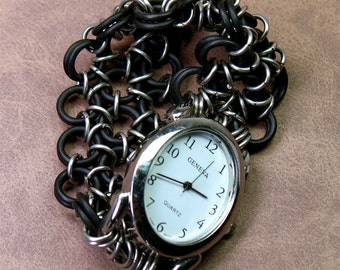 Oval Chainmail Watch (PRICE REDUCED)