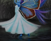 Art print of Dance of the Undine 7x10