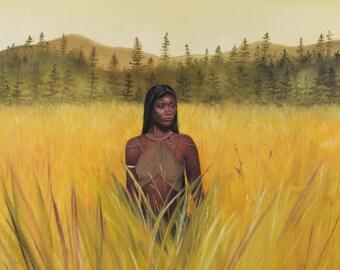 Lamanite Girl 11x13