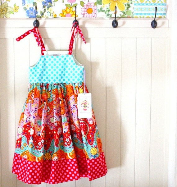 Happy Town -- Spring Collection of 'Bloom' Dresses