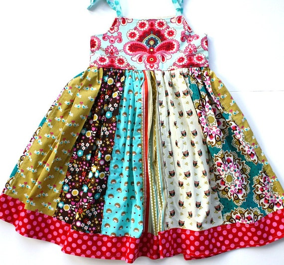 The Lilyana -- A Patchwork Dress (ONLY ONE)