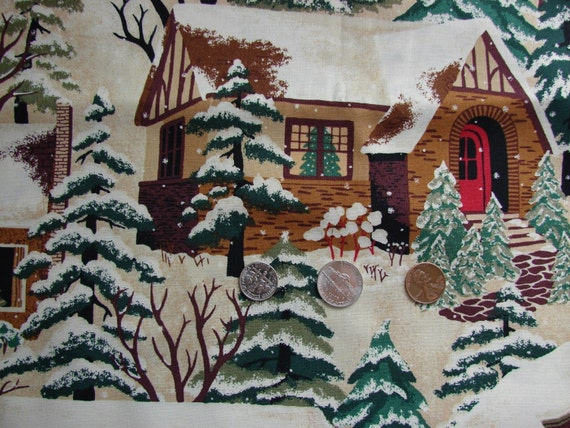 Christmas Street by Thimbleberries for RJR Fabrics Two Yards