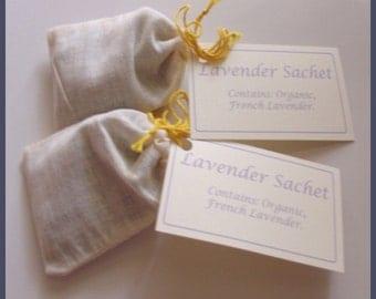 Gift, Sachet, Lavender, two sachets