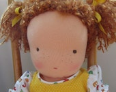 Lisette, a Waldorf Doll with Red Hair