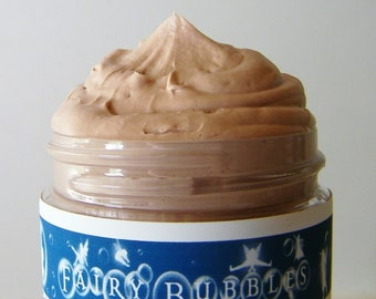 Body Washes, Chocolate Whipped Soap, Whipped Cream Soaps, Fluffy Whip, Bath Whip, Mini 2 oz soap in a jar, by fairybubbles