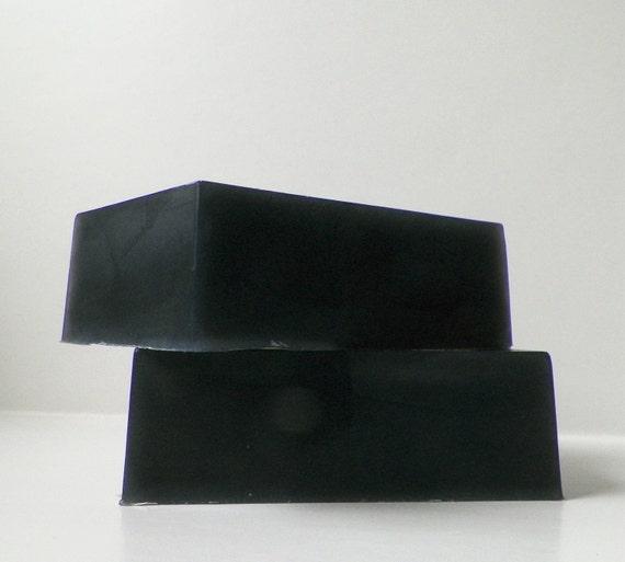 Bar Soap, Black for Men, Natural Moisturizing Soap, Vegan, by FairyBubbles